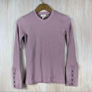 Sundance Lavender Thermal Long Sleeve Shirt